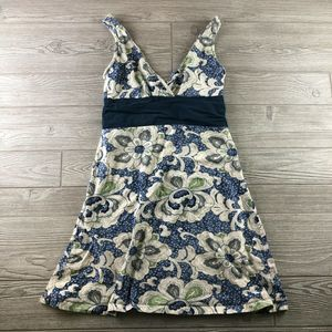 Womens Patagonia Sleeveless Dress Flowers Floral
